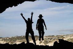 Fun in caves