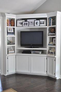1000+ ideas about Corner Media Cabinet on Pinterest | Corner tv ...