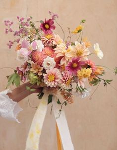Wedding Bouquet - New Ideas Spring Wedding Flowers, Bridal Flowers, Floral Wedding, Wildflower Wedding Bouquets, Bouquet Wedding, Fall Bouquets, Bride Bouquets, Floral Bouquets, Wedding Flower Inspiration