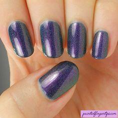 Painted Fingertips | Swatch - Crowstoes Huginn & Muninn Sparked