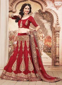 Maroon Color Elegant Lehenga Choli ,Indian Dresses - 1