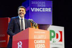 Matteo Renzi: Hoffnungsträger für Italien - Die Genugtuung war deutlich sicht- und spürbar. Mehr zur Person hier: http://www.nachrichten.at/nachrichten/meinung/menschen/Matteo-Renzi-Hoffnungstraeger-fuer-Italien;art111731,1258358 (Bild: epa)