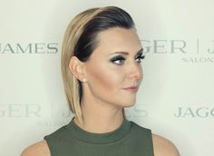 Hair: Brandon DaSilva • Makeup: Jill Bradley