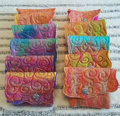 Handmade felted purses by The Craftsmyth etsy.com/Thecraftsmyth