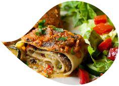 Vegetable lasagne #healthy #recipes #seasalt #allnatural #gourmet #salt #cooking