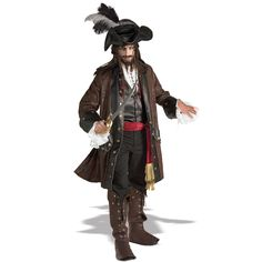 Captain Darkheart Grand Heritage Collection Adult #Pirate #Costume