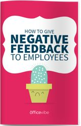 The complete guide to help you give negative feedback to employees. Learn which questions to ask and which ones you need to avoid. Employee Feedback, Negative Feedback, Employee Engagement, Good Company, Teacher Appreciation, Giving, Online Courses, How To Become, Management