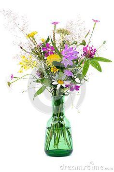 Wildflower Bouquet Stock Photo - Image: 32435780