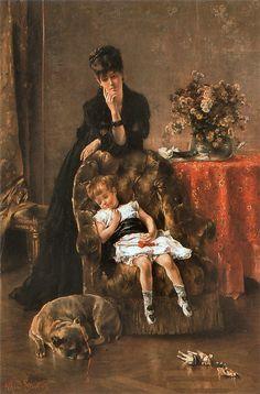 Alfred Stevens  1823-1906  België