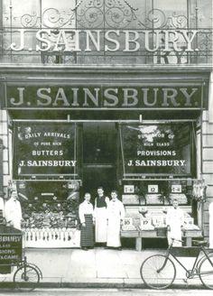 Essex, Romford, Sainsbury's Store - 1905