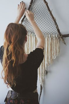 Extra Giant Triangle Crystal Dreamcatcher