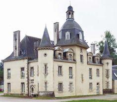 Château de La Ribeaudière ~ Montauban-de-Bretagne ~ Ille-et-Vilaine ~ France
