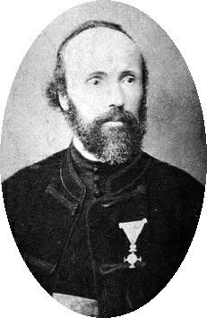 Milutin Tesla, son of Nikola and Ana Tesla, and father of the great inventor Nikola Tesla, who was named after his grandfather. Milutin was born in Lika modern day Croatia, he was a Serbian Orthodox priest for 25 years, he spoke over 8 international languages and he fathered 5 children.