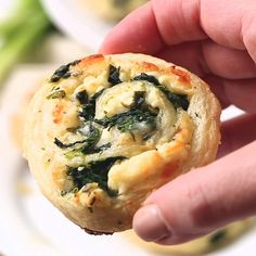 Spinach Feta Pinwheels Spinach Feta Pinwheels,Food porn Flaky, buttery puff pastry is rolled around spinach, feta, mozzarella and green onions to create these outrageously delicious Spinach Feta Pinwheels! All the marvelous flavors of Greek. Yummy Appetizers, Appetizer Recipes, Greek Appetizers, Appetizers With Puff Pastry, Spinach Appetizers, Puff Pastry Pinwheels, Pinwheel Recipes, Spinach Pinwheel Recipe, Spinach Puffs Recipe