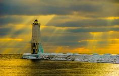 Frankfort Lighthouse by Phil Stagg Photography