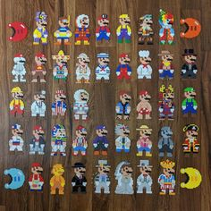 I did all the 8bit costumes from super mario oddyssey http://ift.tt/2Dbv501