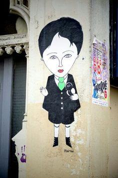 fred le chevalier - street art - paris 11 - rue de la roquette (juin 2013)