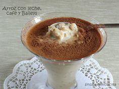 ARROZ CON LECHE, CAFÉ Y BAILEYS (Normal y Thermomix)