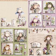 Kit de Scrapbooking Ofelia Arte & Scrap 30x30cm Papel Scrapbook, Scrapbook Cards, Paper Art, Paper Crafts, Collages, Decoupage Printables, Project Life Cards, Holly Hobbie, Junk Art