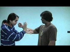 Wing Chun Pak Sao Tan Sao Drill Part 2 - YouTube