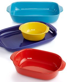 CW by Corningware 4 Piece Nesting Bakeware Set - Bakeware - Kitchen - Macy's