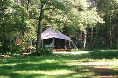 Our large deluxe luxury tents are ideal for glamping holidays