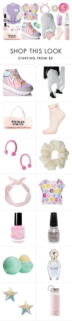 """""""Rewarding A Good Workout with Sweets!"""" by porcelainette ❤ liked on Polyvore featuring Y.R.U., OneTeaspoon, INC International Concepts, Miss Selfridge, Eos, Marc Jacobs, Orelia and Kate Spade"""