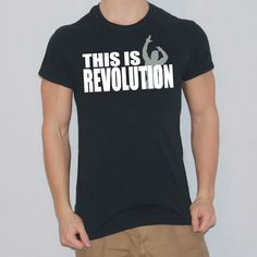 Zyzz Revolution T-shirt designed by Ripped Generation! Generation Photo, Gym Wear, Shirt Designs, Revolution, Mens Tops, Photos, How To Wear, T Shirt, Women
