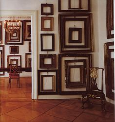 Love ALL of these #frames, inside of #frames, on top of more frames - fantastic!