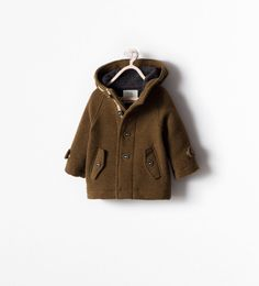 ZARA - SALE - DOUBLE-SIDED COAT WITH POCKETS