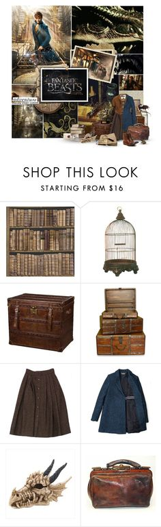 """""""Fantastic Beasts and Where to Find Them"""" by marmalade-whiskers ❤ liked on Polyvore featuring Kate Spade, Guy Laroche, Ralph Lauren and H by Hudson"""