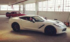 2014 Chevrolet Corvette C7 White