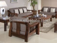 Source North American black walnut wood sofa set, High-end solid wood comfortabl… – Wooden Sofa Designs Wooden Couch, Wood Sofa, Couch Furniture, Home Decor Furniture, Furniture Design, Unique Wood Furniture, Furniture Stores, Cheap Furniture, Living Room Sofa Design