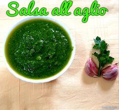 SALSA ALL'AGLIO #ricettadelgiorno #food #loscrignodelbuongusto #passionecucina #salsaallaglio #aglio #settembre #salsa
