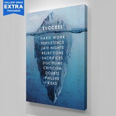 Inspirational and Motivational Art Canvas Prints For Home Or Office – Ikonick