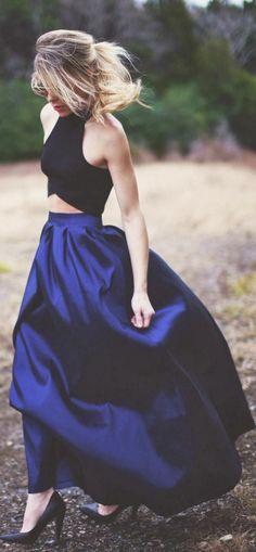 pour avoir un air bohème mettez une jupe longue