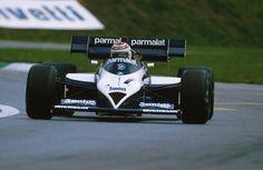Nelson Piquet (Brabham-BMW) 2éme du Grand Prix d'Autriche - Osterreichring 1984 - Formula 1 HIGH RES photos (Old and New) Facebook