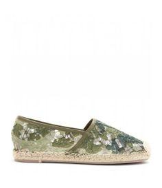Camouflage Lace Espadrilles <3
