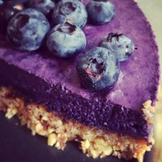 Rawfood blueberry