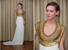 Temperley London, awesome neckline! <3