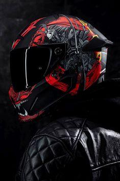 Motorcycle Riding Gear, Motorcycle Helmet Design, Custom Motorcycle Helmets, Biker Gear, Racing Helmets, Concept Motorcycles, Cool Motorcycles, Girl Motorcyclist, Cb 1000