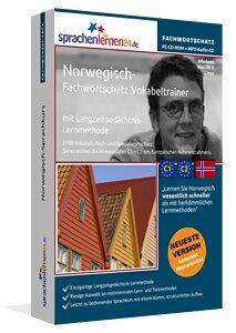 Lernen Sie Norwegisch themenbezogen, zielgerichtet und schnell - mit dem nach Fachbereichen und Themen sortierten Vokabeltrainer!