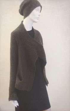 Shorty - the first jacket for the Sarajevo project. My Friend, Friends, Long Time Ago, Knitting Projects, Knit Crochet, Turtle Neck, Jacket, Fashion, Amigos