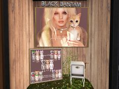 BLACK BANTAM - cat, 75L per play  http://seraphimsl.com/2015/12/15/deck-the-halls-with-kustom9/