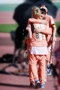 Taoris - Tao looks so happy when he's around Kris~