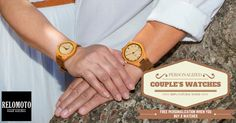 Free personalisation for couple's watches