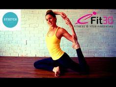 Yoga Practice by PJ Wells Beginner to Intermediate level - Audio Change - YouTube
