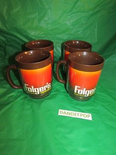 Welcome to dandeepop variety auctions and shop Folgers Coffee, Coffee Coffee, Insulated Coffee Cups, Tool Music, Instant Coffee, Vintage Tools, Auction, Mugs, Crystals