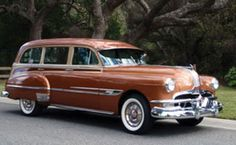 1952 Pontiac Chieftain Deluxe Station Wagon Maintenance of old vehicles: the material for new cogs/casters/gears/pads could be cast polyamide which I (Cast polyamide) can produce