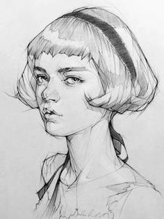 Pencil Portrait Drawing, Portrait Sketches, Pencil Art Drawings, Cool Art Drawings, Art Drawings Sketches, Portrait Watercolour, Shading Drawing, Sketches Of People, Great Works Of Art